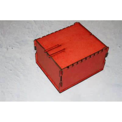 Bandua Wargames:  Trading Card Box - Small Red