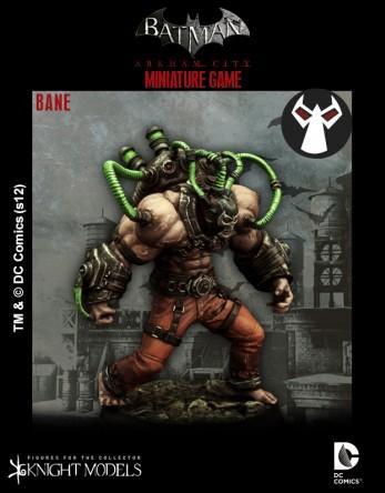 Batman Miniatures Game 006: Bane (Arkham City)