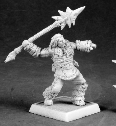 Reaper Warlord: Barbarian Spearthrower