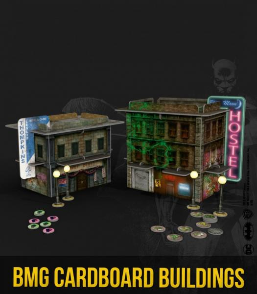 Batman Accessories: Cardboard Buildings