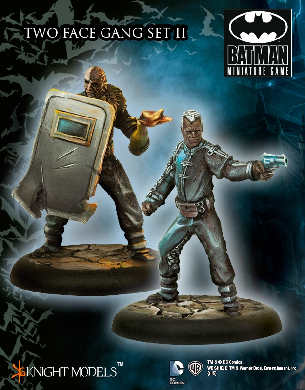 Batman Miniatures Game 051: Two Face Gang Set 2 (Arkham City)