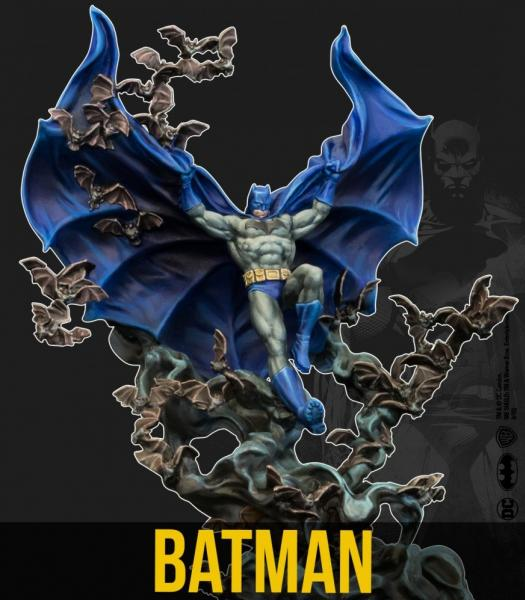 Batman Miniature Game 2nd Edition: Batman 80th Anniversary (Multiverse)