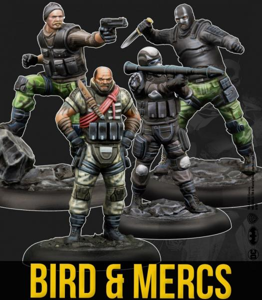 Batman Miniature Game 2nd Edition: Bird & Mercs