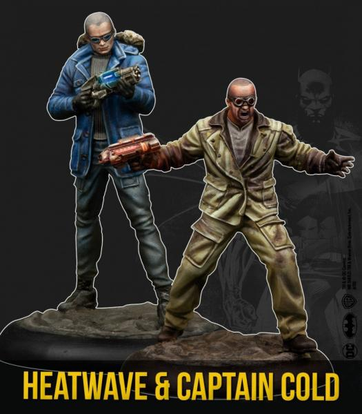Batman Miniature Game 2nd Edition: Captain Cold & Heatwave