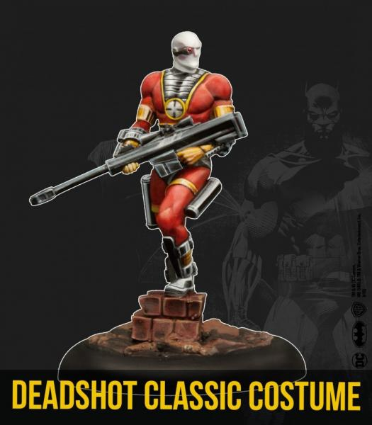 Batman Miniature Game 2nd Edition: Deadshot- Classic Costume (Multiverse)