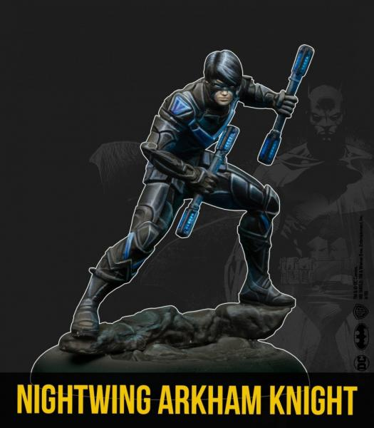 Batman Miniature Game 2nd Edition: Nightwing- Arkham Knight