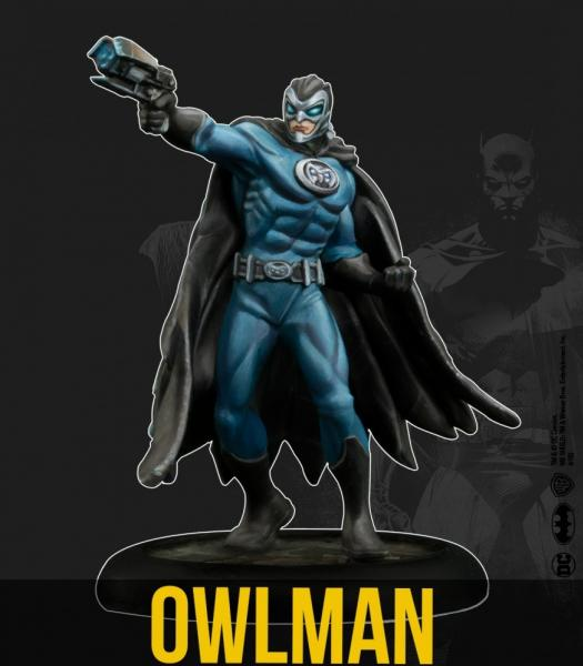 Batman Miniature Game 2nd Edition: Owlman (Multiverse)