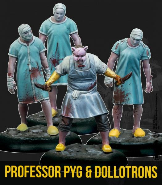 Batman Miniature Game 2nd Edition: Professor Pyg & Dollotrons