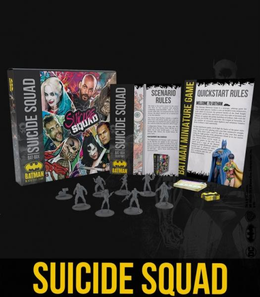 Batman Miniature Game 2nd Edition: Suicide Squad Bat Box