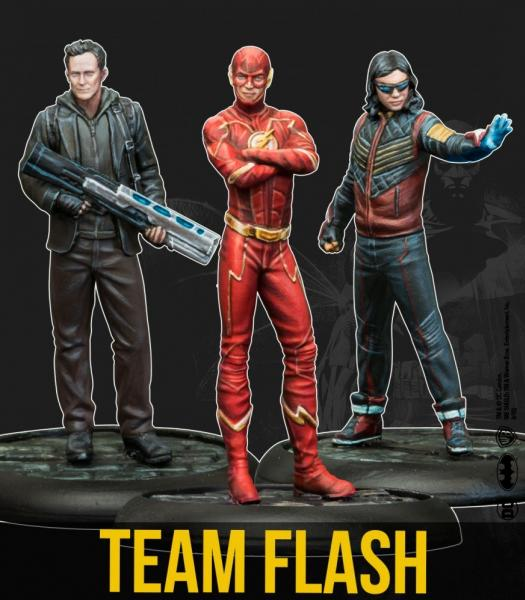 Batman Miniature Game 2nd Edition: Team Flash (TV Show)