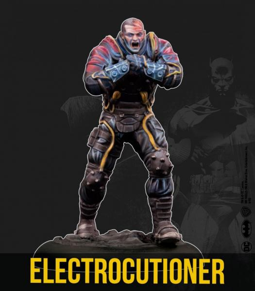 Batman Miniature Game 2nd Edition: Electrocutioner