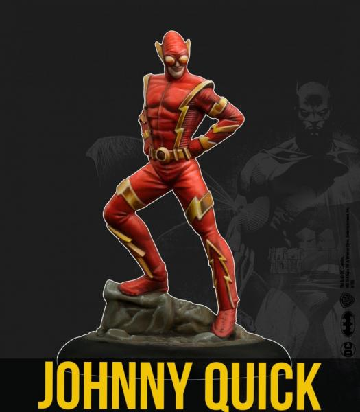 Batman Miniature Game 2nd Edition: Johnny Quick (Multiverse)