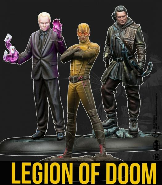 Batman Miniature Game 2nd Edition: Legion Of Doom (TV Show)