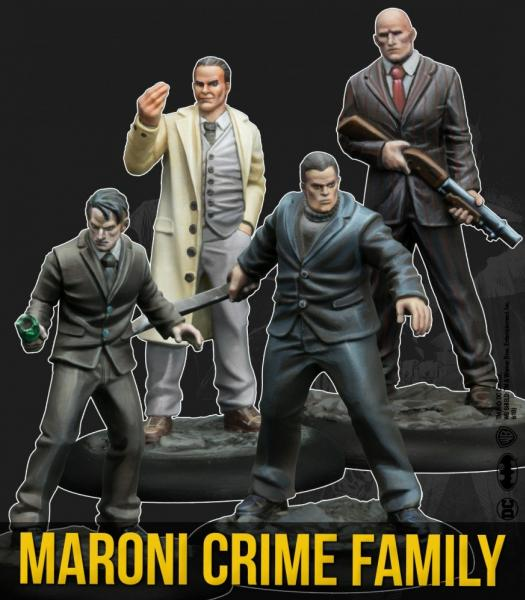 Batman Miniature Game 2nd Edition: Maroni Crime Family