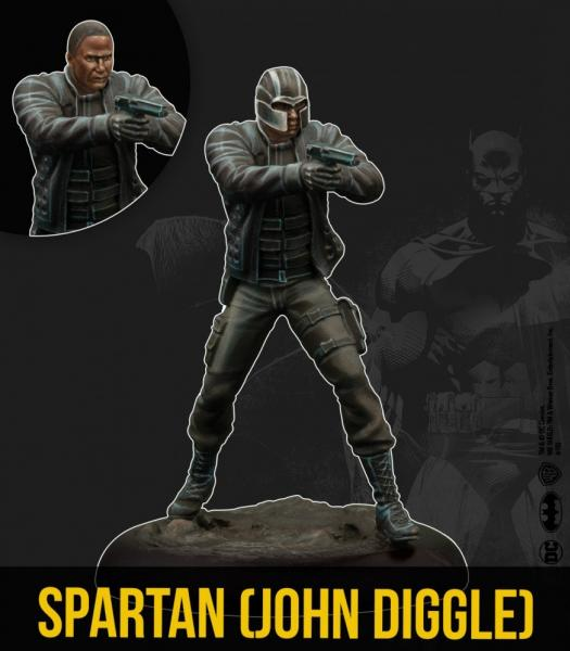 Batman Miniature Game 2nd Edition: Spartan- John Diggle (TV Show)