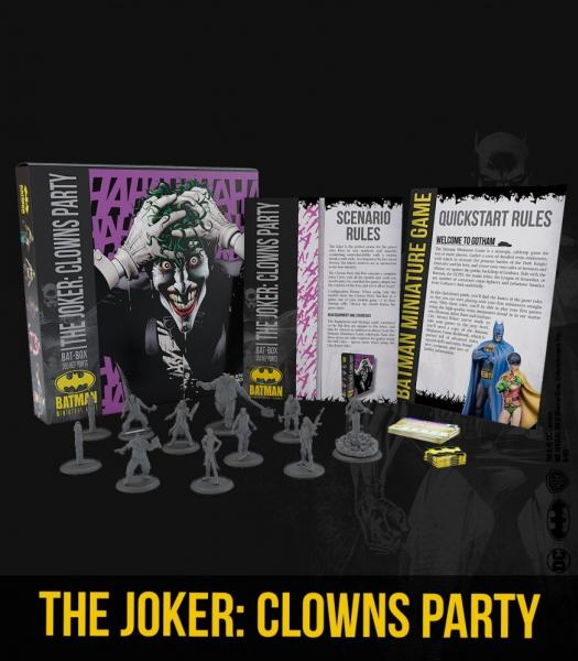 Batman Miniature Game 2nd Edition: The Joker- Clowns Party