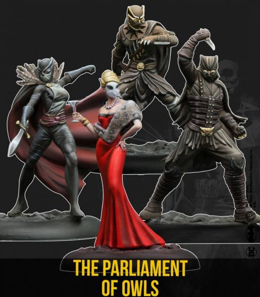 Batman Miniature Game 2nd Edition: The Parliament of Owls Set