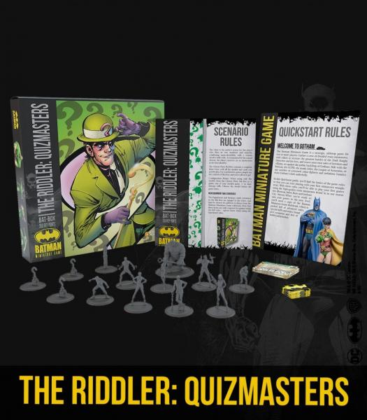 Batman Miniature Game 2nd Edition: The Riddler- Quizmasters