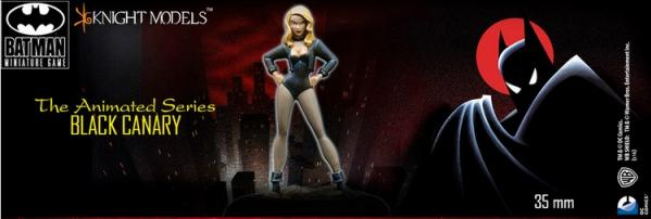 Batman Miniatures Game 124: Black Canary (Animated Series)