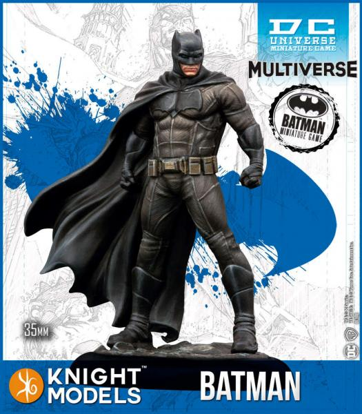Batman Miniatures Game 2nd Edition: Batman (Ben Affleck) (Resin)