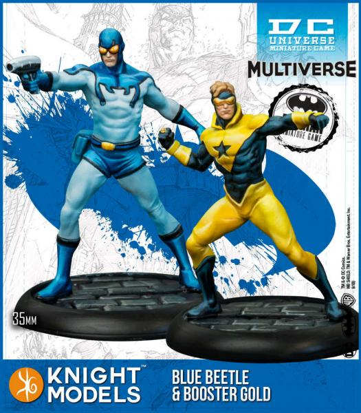 Batman Miniatures Game 2nd Edition: Blue Beetle & Booster Gold