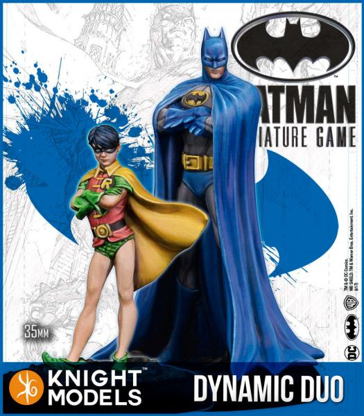 Batman Miniatures Game 2nd Edition: Dynamic Duo