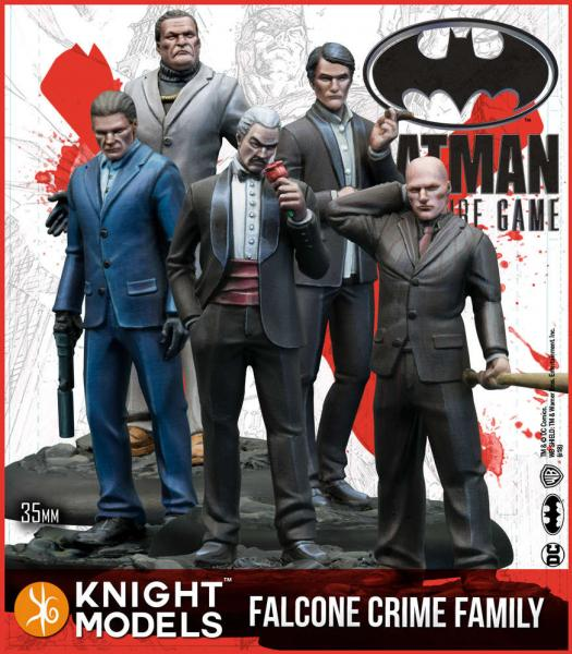 Batman Miniatures Game 2nd Edition: Falcone Crime Family