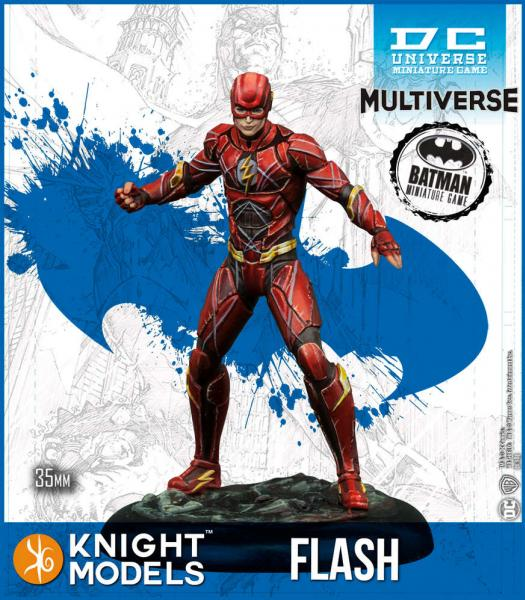 Batman Miniatures Game 2nd Edition: Flash (Ezra Miller) (Resin)