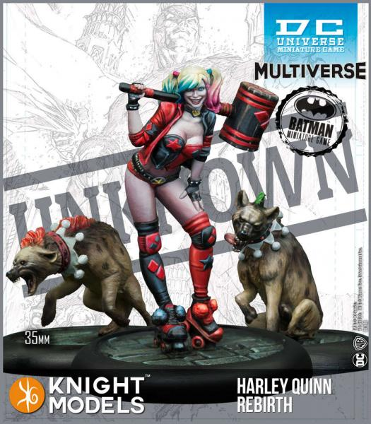 Batman Miniatures Game 2nd Edition: Harley Quinn Rebirth (Multiverse)