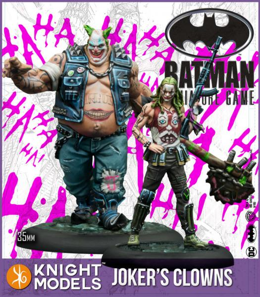 Batman Miniatures Game 2nd Edition: Jokers Clowns
