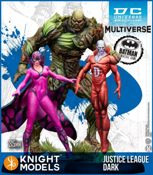 Batman Miniatures Game 2nd Edition: Justice League Dark (Multiverse)