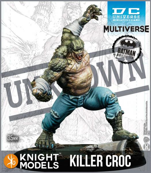 Batman Miniatures Game 2nd Edition: Killer Croc (Resin)