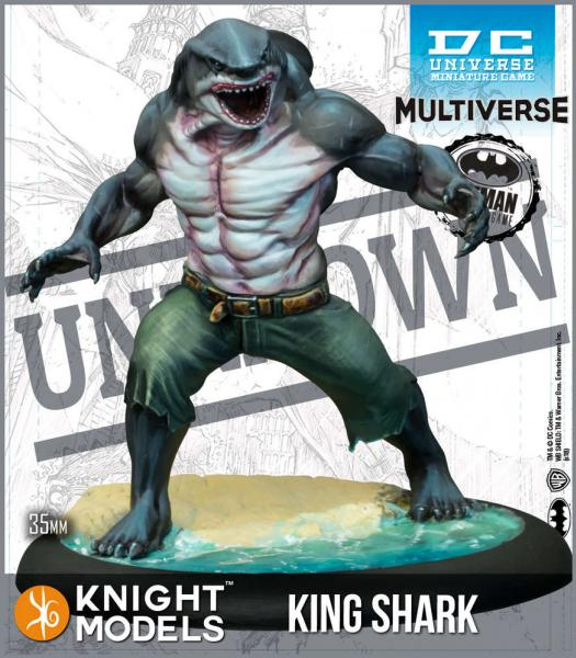 Batman Miniatures Game 2nd Edition: King Shark (TV Show)