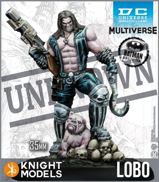 Batman Miniatures Game 2nd Edition: Lobo (Multiverse)