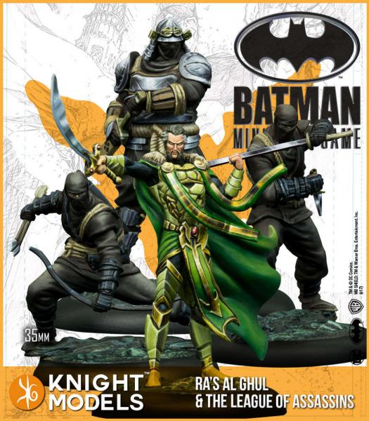 Batman Miniatures Game 2nd Edition: Ras Al Ghul and The League of Assassins