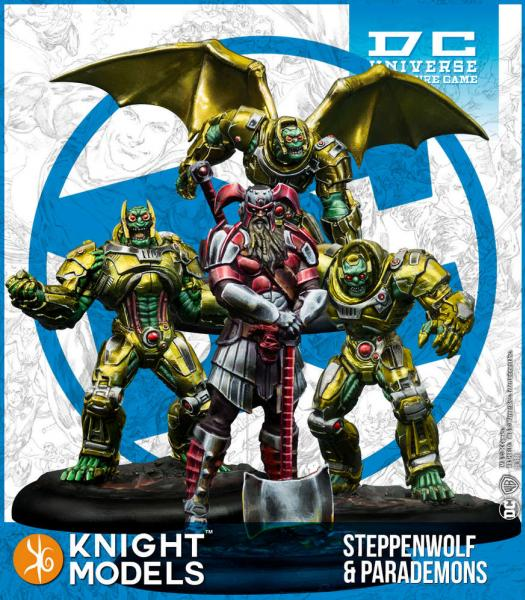 DC Universe Miniature Game: Steppenwolf & Parademons