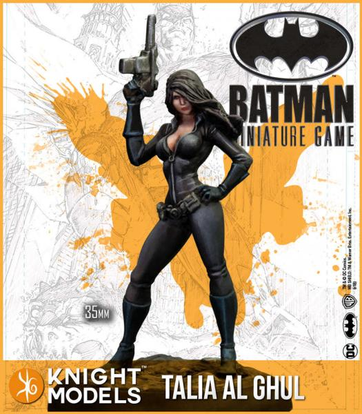 Batman Miniatures Game 2nd Edition: Talia AlGhul