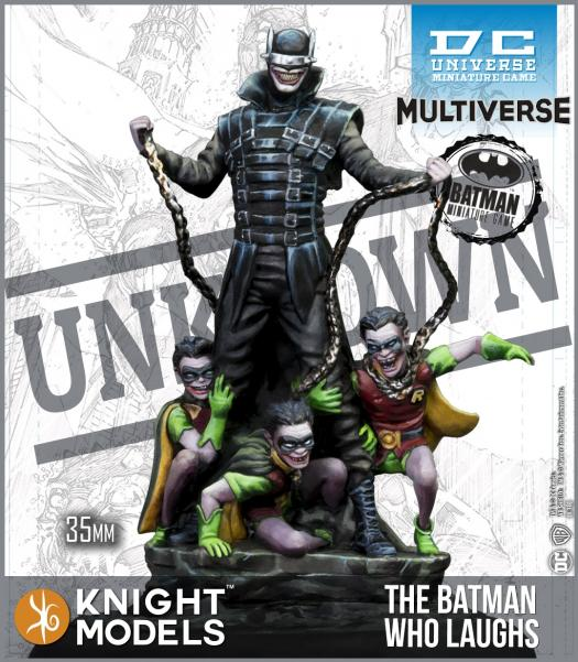 Batman Miniatures Game 2nd Edition: The Batman Who Laughs (Multiverse)
