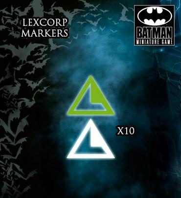 Batman Miniatures Game: LEXCORP MARKERS