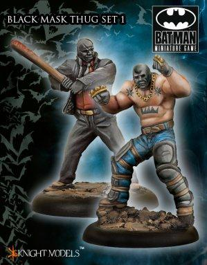 Batman Miniature Game 043: Black Mask Thugs Set 1 (Arkham Origins)