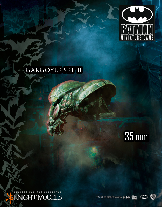 Batman Accessories: Gargoyles Set II