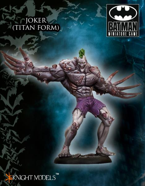 Batman Miniatures Game 049: Joker (Titan Form) (Arkham City)
