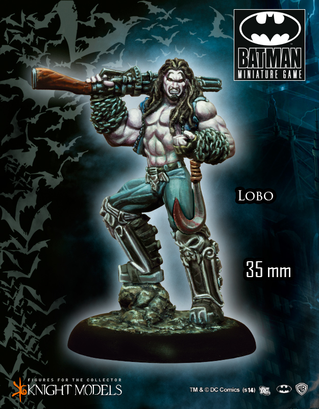 Batman Miniature Game 019: Lobo