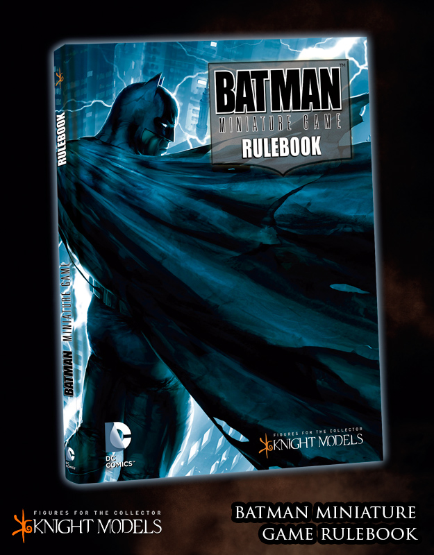 Batman The Miniatures Game: Rulebook [SALE]