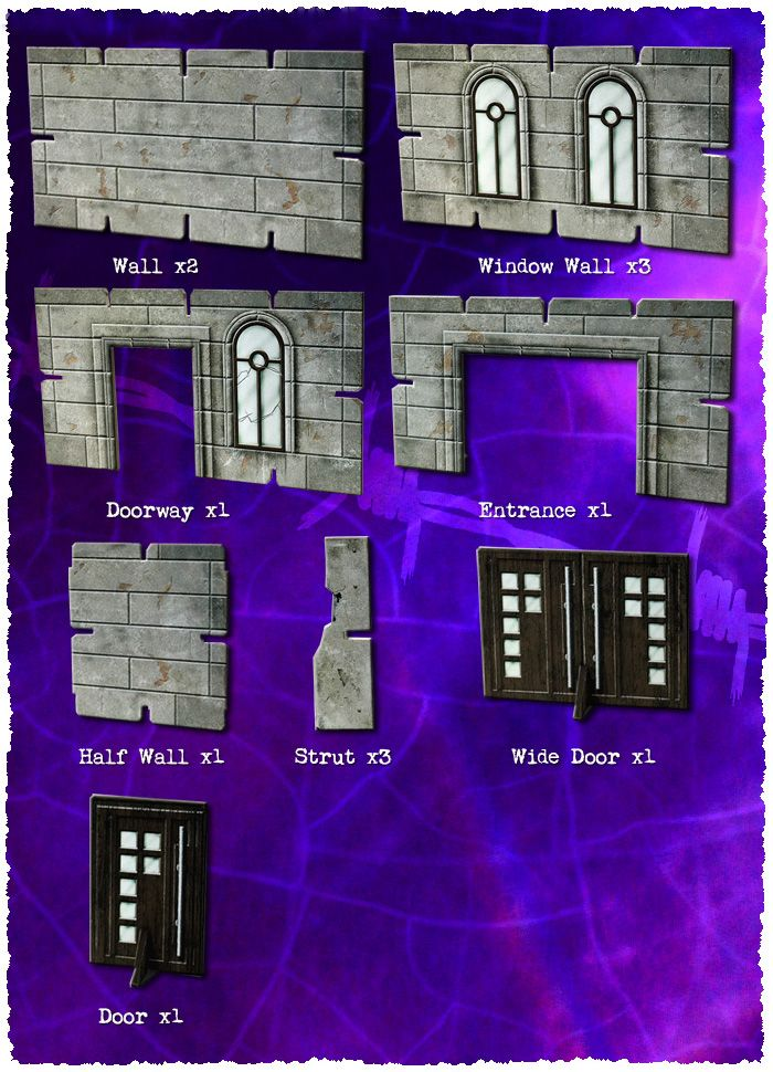 Battle Systems: Art Deco Exterior Walls