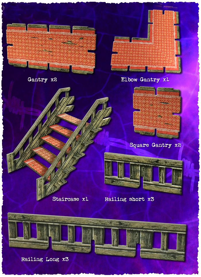 Battle Systems: Art Deco Walkways