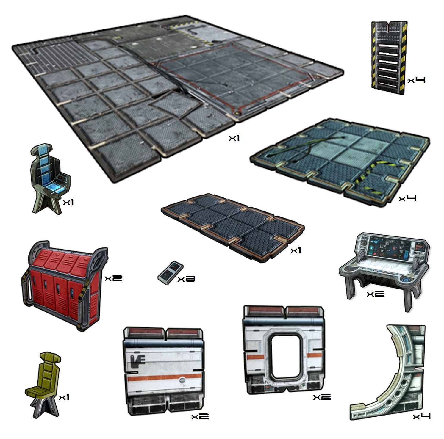 Battle Systems: Galactic Floor Tiles Pack