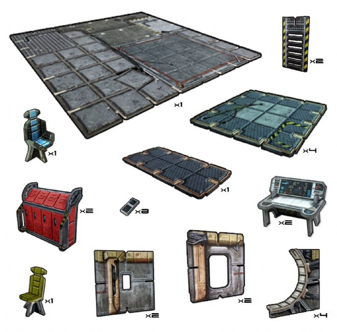 Battle Systems: Frontier Floor Tiles Pack