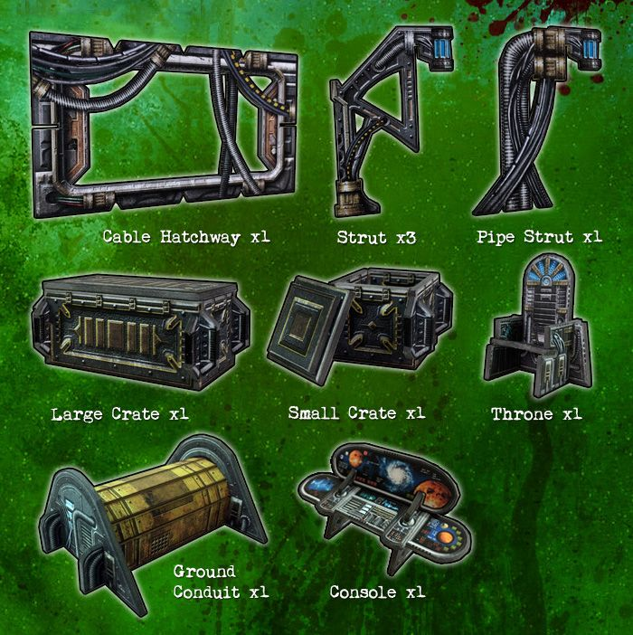 Battle Systems: Gothic Items