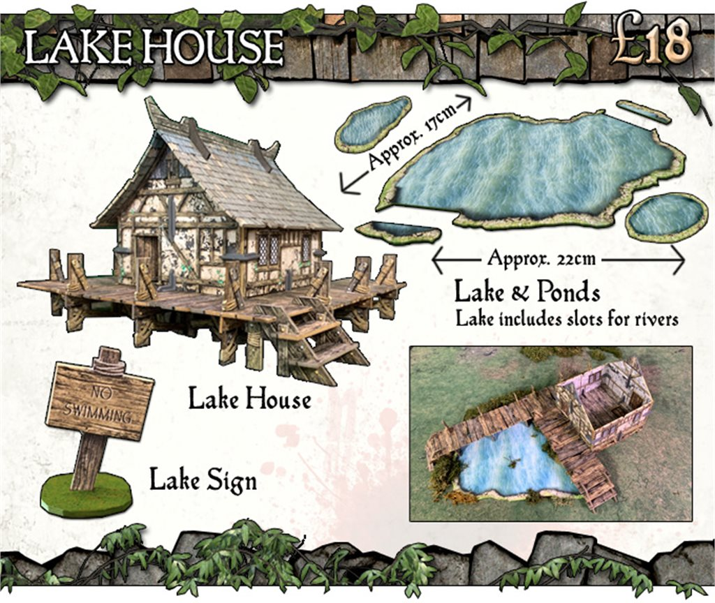 Battle Systems: Lake House